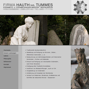 Web-design for Tummes